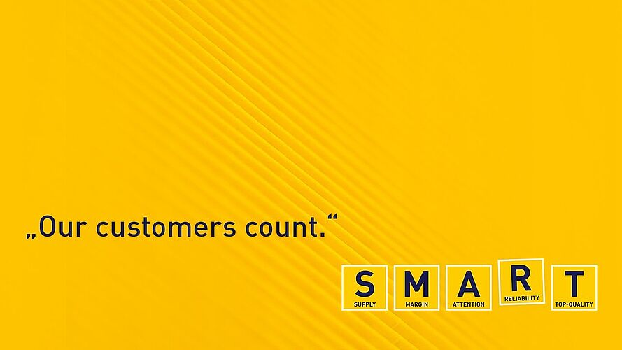 A | ATTENTION. Our customers count.