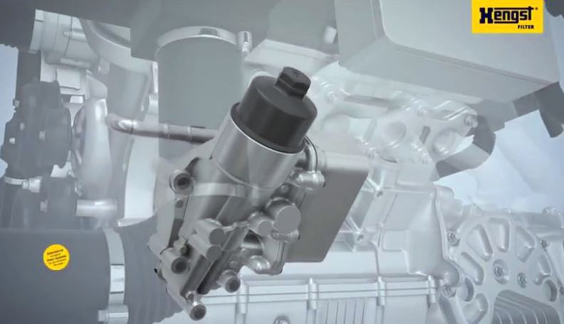 Animation oil filtration - Hengst Filtration